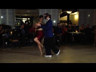 Tymoteusz Ley  Sayaka Higuchi, blindfolded improvisation - Maritime Tango Challenge 2018