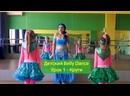 Детский Bellydance. Урок 1 - Круги. Восточные танцы для детей.
