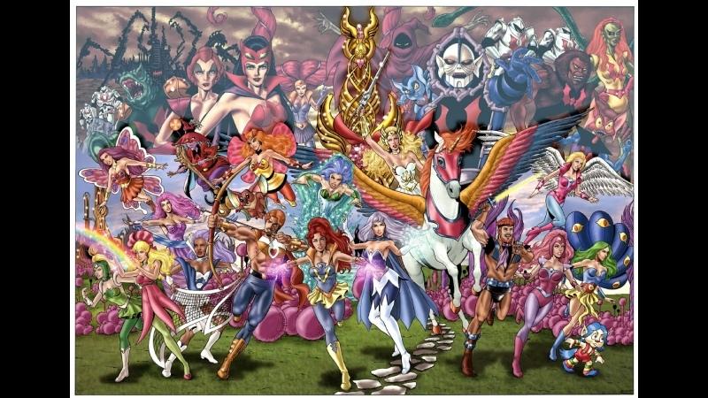 Непобедимая принцесса Ши Ра She Ra Princess of Power 2 й сезон 01 14 серии 1986 г