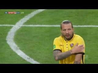 Унион Берлин - Динамо Дрезден 0:0