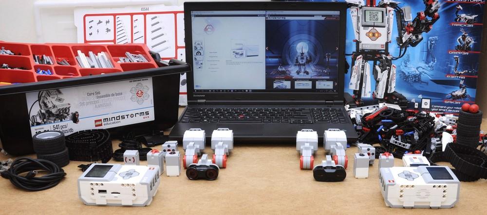 Конструктор робототехники Lego Mindstorm EV3