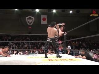 Masato Yoshino & Shuji Kondo vs. . (BxB Hulk & Eita) vs. Team Dragon Gate (KAI & YAMATO)