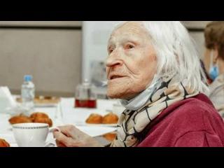 Вот так бабуля! Блокадница Надежда Строганова поко...