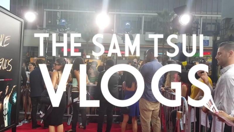 VLOG_ Sam Takes Over WAYF RED CARPET! (w_Zac Efron!)