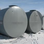 Резервуар горизонтальный двустенный РГД 5 м3