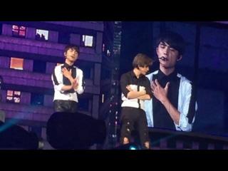 [FANCAM] 150612 EXOPLANET #2 - The EXO'luXion in Taipei @ EXO's D.O, Baekhyun focus - PlayBoy