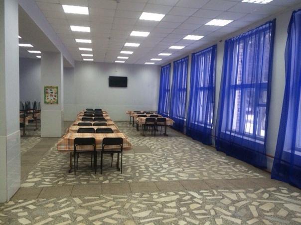 Обеденный зал столовой