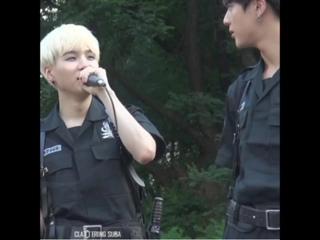Jin makes suga forgot his lyrics. The power of eye contact// yoonjin // seokjinism