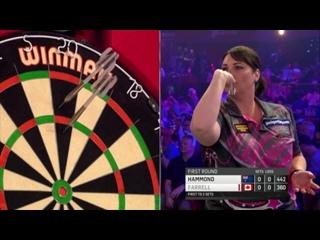 Corrine Hammond vs Patricia Farrell (BDO World Darts Championship 2017 / Round 1)