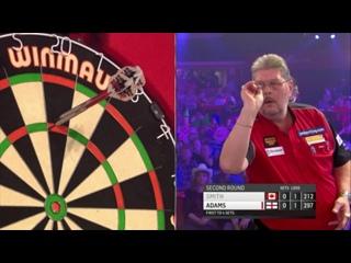 Martin Adams vs Jeff Smith (BDO World Darts Championship 2017 / Round 2)