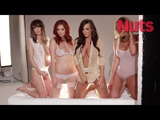 Lucy Collett, Danielle Sharp, Leah Francis  Stacey Poole - Nuts [April 2012] | Busty girls