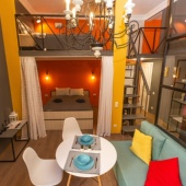 №3 Двухуровневые апартаменты Lux