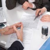 Подготовка проектов дополнительных соглашений,