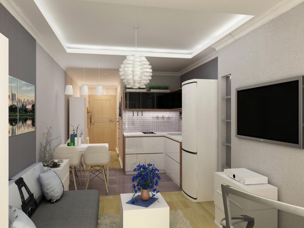 Проект квартиры 23 м.
