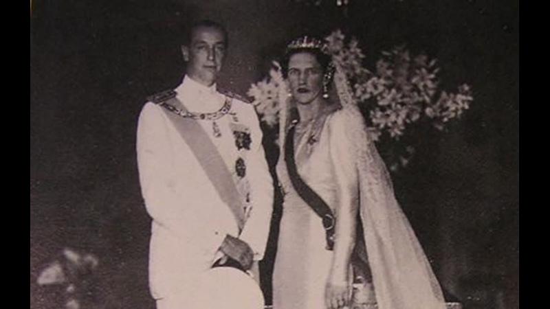 Свадьба Короля Хорватии Томислава II и Принцессы Ирины Греческой 1 июля 1939 г