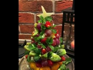 Съедобная елочка на Новогодний стол