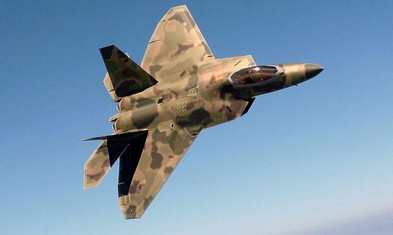 ИСТРЕБИТЕЛЬ ПЯТОГО ПОКОЛЕНИЯ F-22 RAPTOR, изображение №1