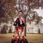 Русский народный костюм «Жостово»