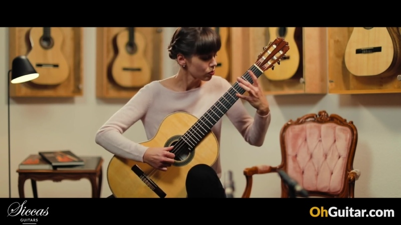 Judith Bunk plays Courante from Suite in E minor BuxWV 236 by Dietrich Buxtehude on a Stephan Connor