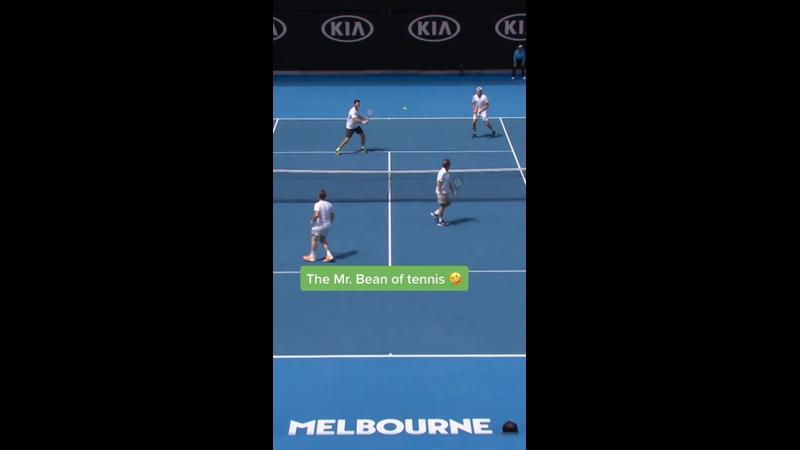 Мистер бин в теннисе