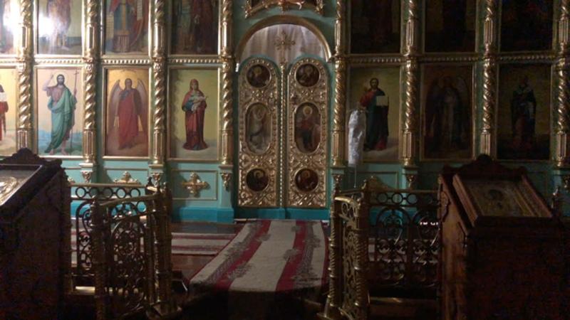 Литургия Храм в честь иконы Божией Матери Неопалимая купина г Ульяновска