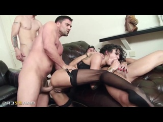 Veronica Avluv, Bonnie Rotten The Secret Soiree Six-Man Gangbang [porno домашнее anal инцест русское homemade brazzers hardcore