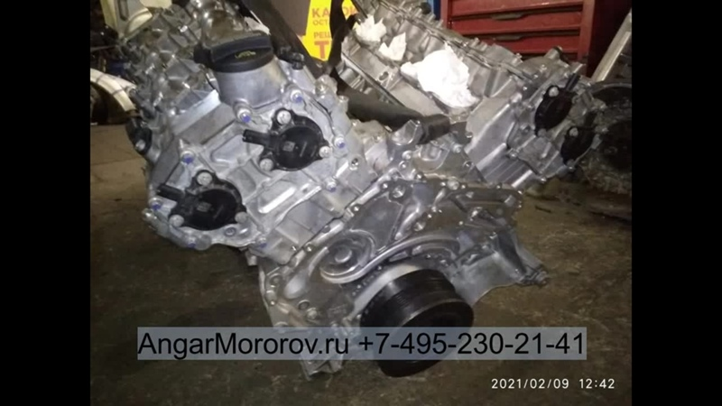 Купить Двигатель Mercedes W166 ML 63 AMG 5.5 157982 Двигатель Мерседес МЛ W166 GL X166 Е W212 CLS W2185.5