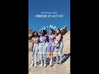 Рекламный ролик «Forever 21»