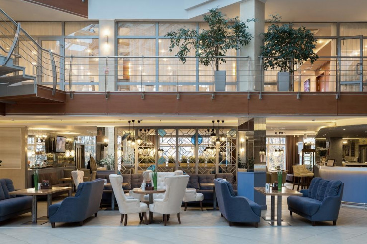 1 этаж — завтраки «Шведский стол уровня 4 звезды»