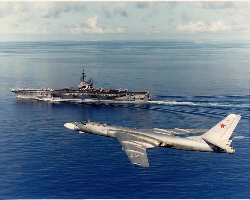 Момент истины для US NAVY: советская ракетоносная авиация. Ч.3.