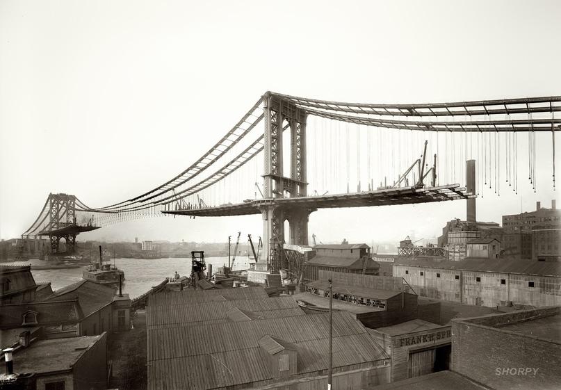 HD-фотографии городов США сделанные в 1900-1915 годах, изображение №21