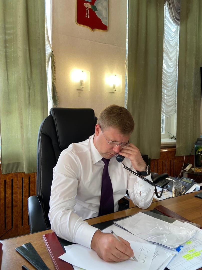Глава Петровского района провёл личный приём граждан