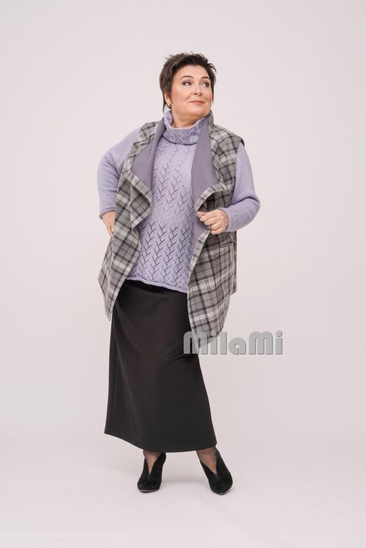 Мода ПЛЮС: 24 стильных образа для полных дам элегантного возраста - 9