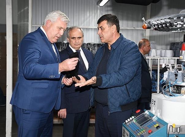 ▪️ Глава района побывал на фабрике «Белтекс», выпускающей...