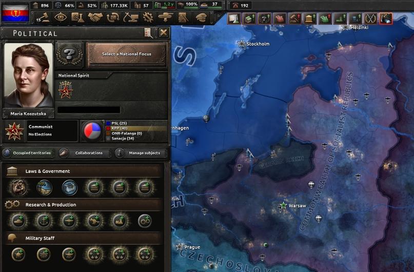 Дневник разработчиков Hearts of Iron IV — Изменение древа фокусов Польши, часть 2, изображение №12