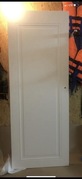 Дверь новая + коробка, из мдф, покрытие матовый...