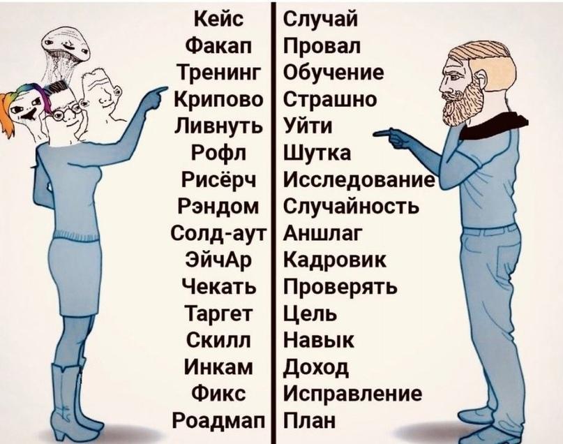 Англицизмы захватывают русский язык: почему так происходит? Стремление показатьс...