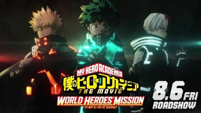 Repelis Ver My Hero Academia The Movie World Heroes Mission 2021 Pelicula Completa Online Gratis En Espanol Vkontakte