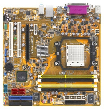 Продам ASUS M2NPV-MX, Сокет AM2, частота памяти 80...