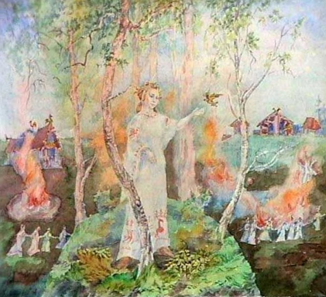 Славянска языческая свадьба (Развёрнутый уряд)