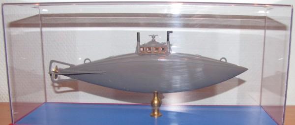Модель подводной лодки второй конструкции С.К. Джевецкого. Экспозиция Музея истории подводных сил России им. А.И. Маринеско.