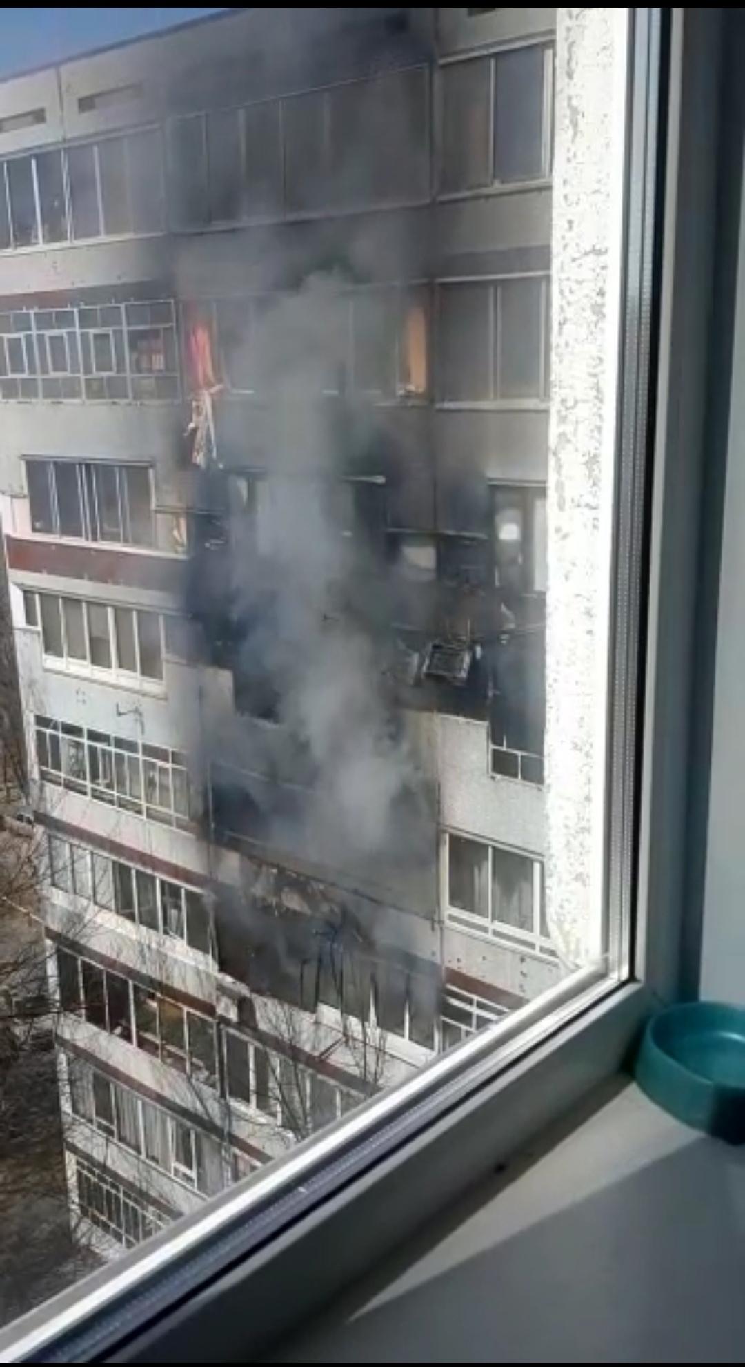 пожар в 41 комплексе Челны