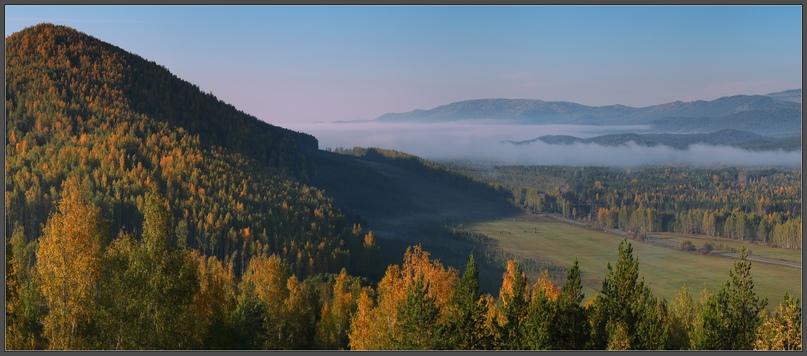 Утро в Ильменских горах. Фотограф — Владимир Чернецкий.