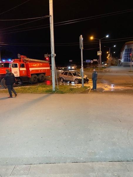 ДТП в Каменске-Уральском на перекрестке Кунавина  ...
