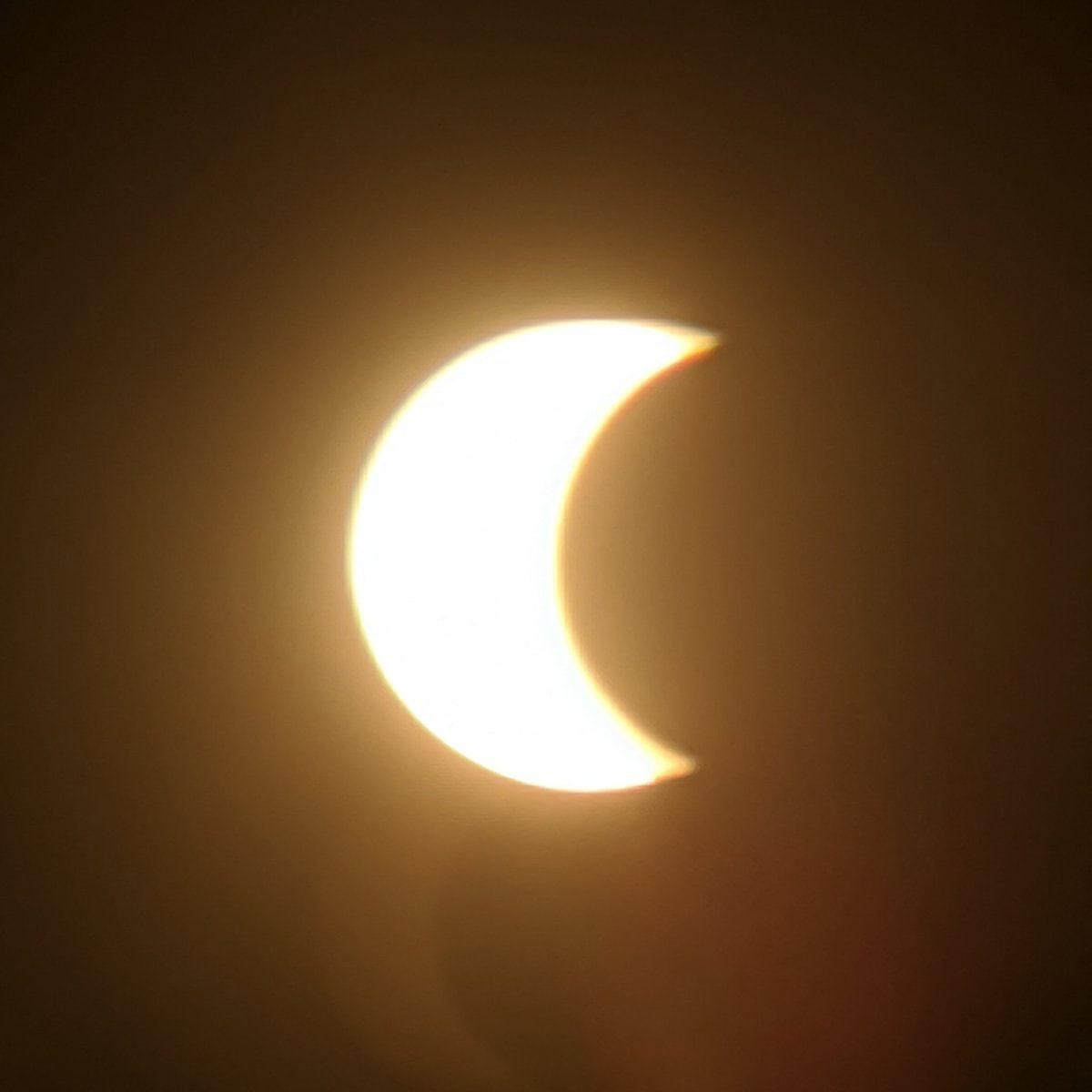 Солнечное затмение смогут наблюдать можгинцы сегодняОно станет