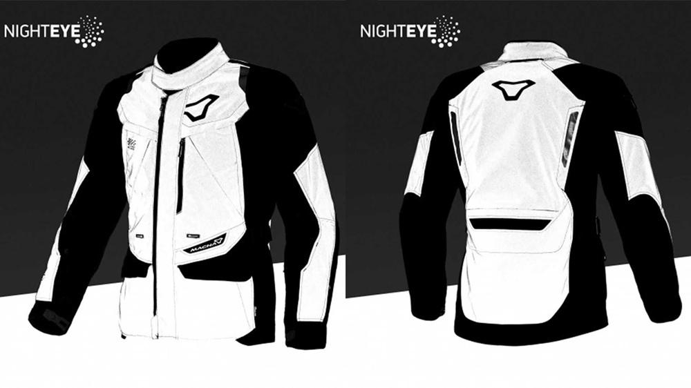 Macna Night Eye - реальная видимость мотоциклиста ночью