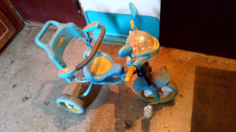 Купить трёхколёсный велосипед с | Объявления Орска и Новотроицка №27711
