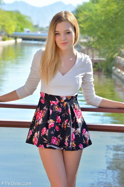 Short Blonde Teen