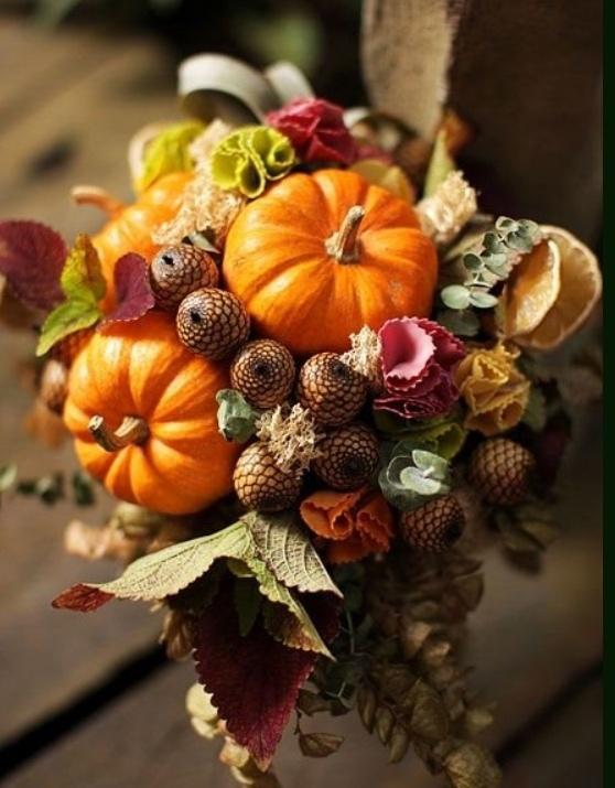 Осенние букеты - некоторые секреты их изготовления и сохранения
