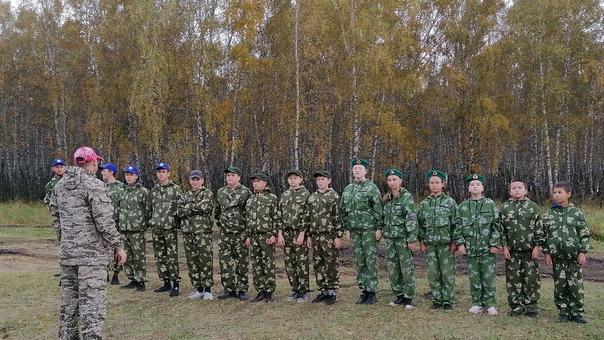 18 сентября юнармейцы отряда